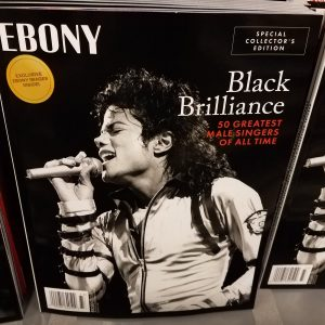 Michael Jackson Ebony Cover
