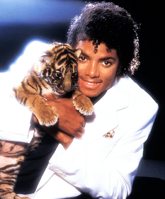 Michael Jackson and Tiger
