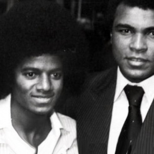 #FriendlyFriday:  MJ and Muhammad Ali