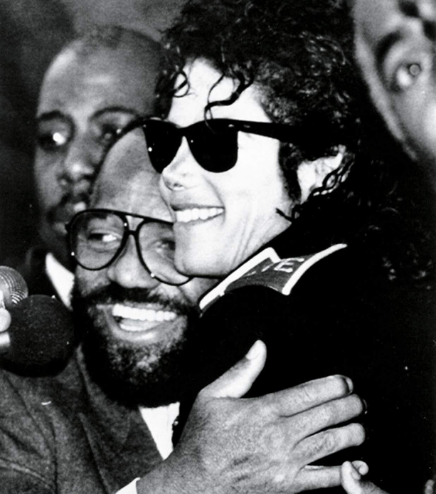 Michael Jackson With Berry Gordy