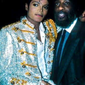 Michael Jackson and Dick Gregory