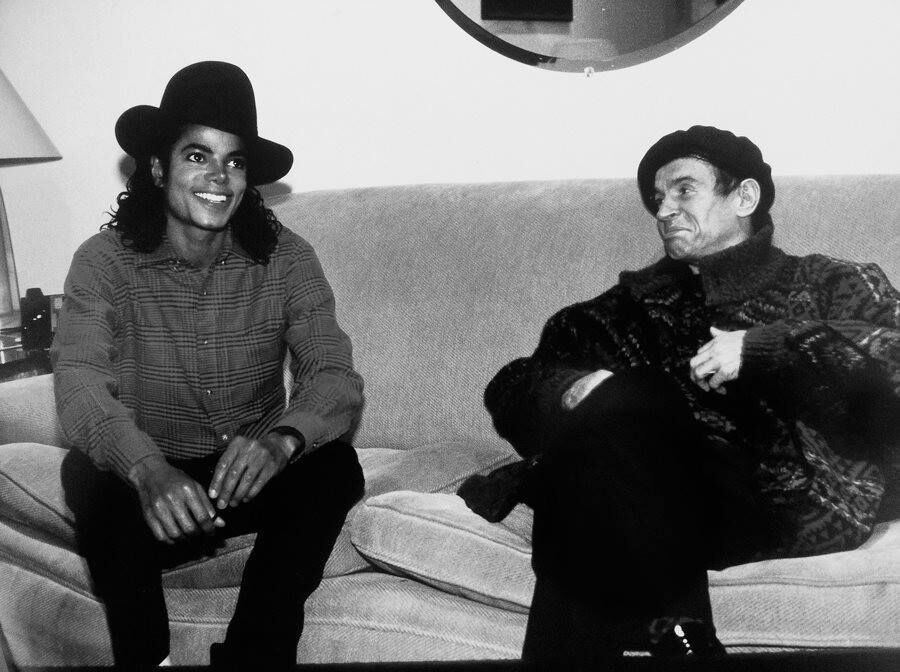 MJ with Rudolph Nuryev
