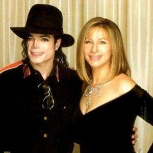 #FriendlyFriday:  MJ and Barbra Streisand