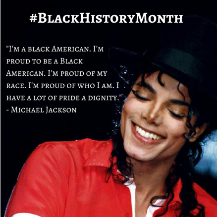 Mj Black History Month
