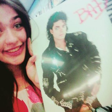 Annie and Michael Jackson