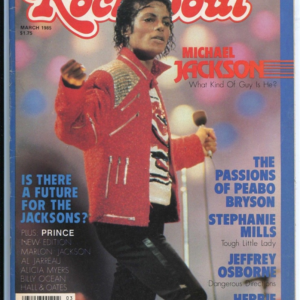 "Michael Jackson on the cover of ""Rock & Soul"""