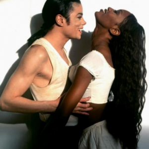 Michael Jackson with Naomi Campbell