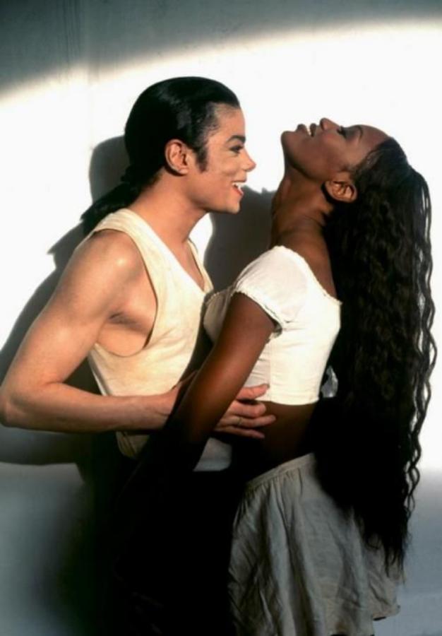 Michael Jackson with Naomi Campbell