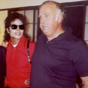 MJ with Bruce Swedien