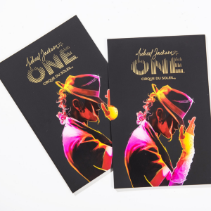 Michael Jackson ONE official show program