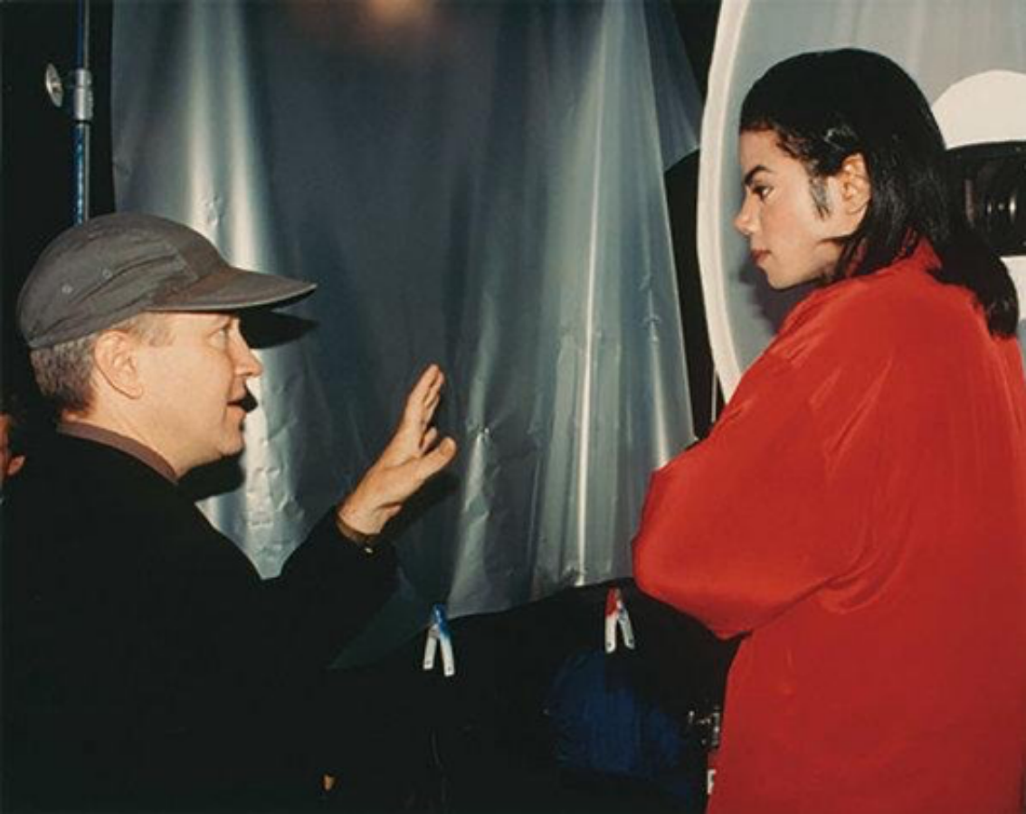 FriendlyFriday: Famed Director David Lynch with Michael Jackson
