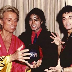 Siegfried and Roy with MJ