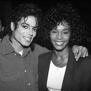Michael Jackson and Whitney Houston