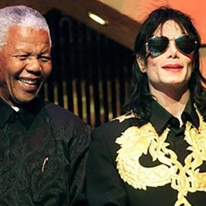 MJ Supported The Nelson Mandela Children's Fund