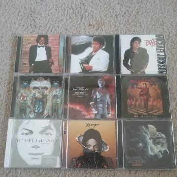 All of my MJ cds