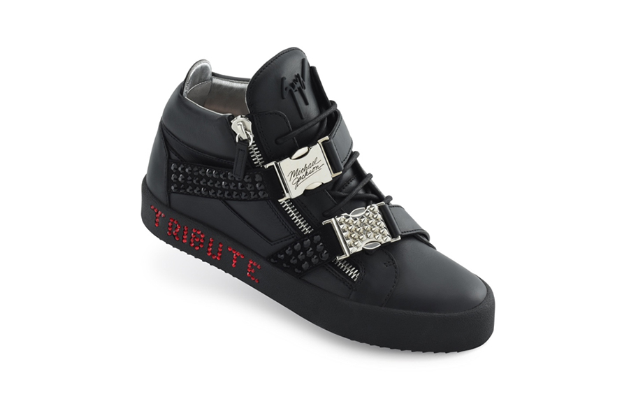 "Giuseppe Zanotti ""Number One"" Sneakers"