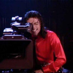 MJ Behind The Camera