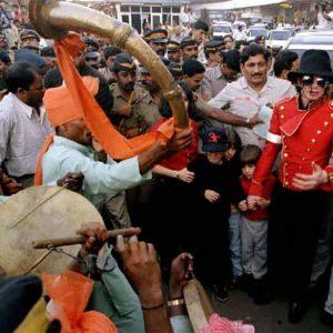 Michael Jackson in India