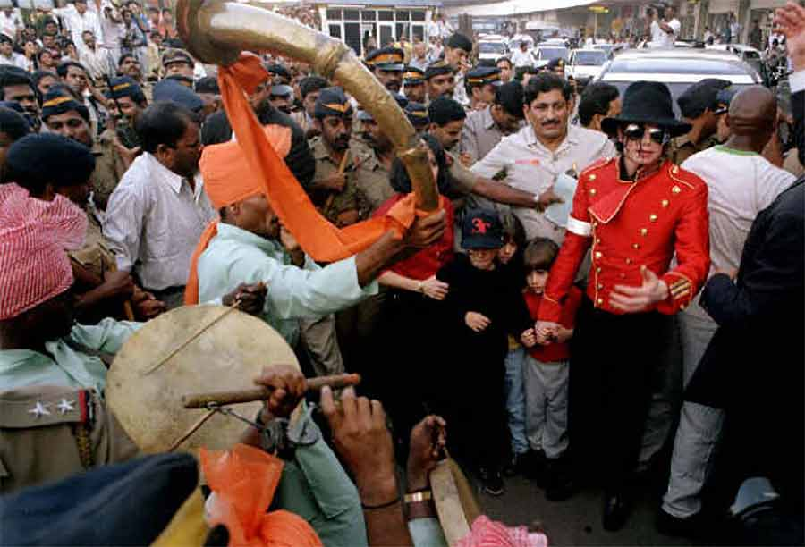 Michael Jackson in Indien