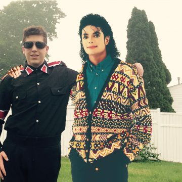 Michael Jackson and me photoshop