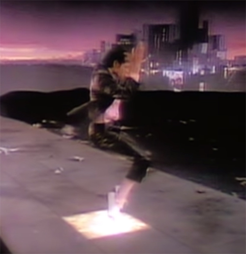 Michael Jackson toe stand in Billie Jean short film