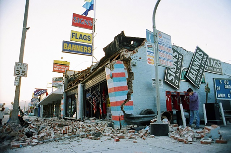 Michael Jackson Supported San Fernando Valley Earthquake Victims In 1994
