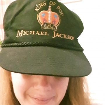 Rocking an MJ cap