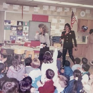 MJ Visited Cleveland Elementary School To Offer Solace To Survivors Of The First Mass School Shooting In The U.S.