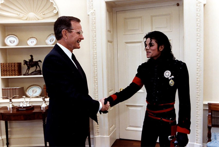 Michael Jackson Was Honored By Multiple American Presidents