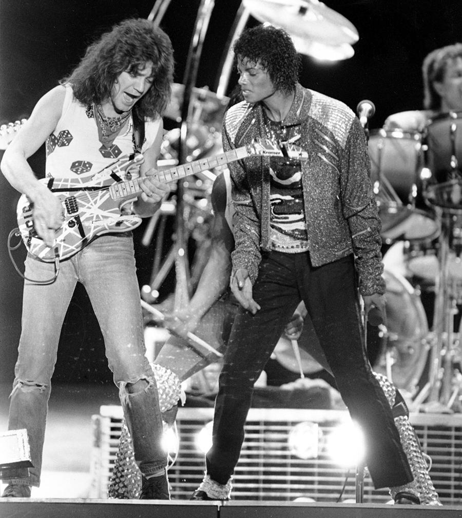 Eddie Van Halen Looks Back On His Time With Michael Jackson