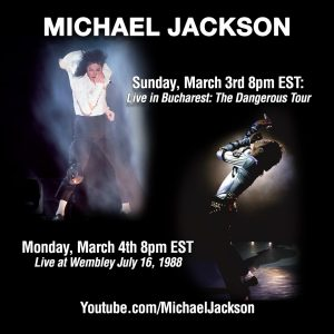 Michael Jackson Live in Bucharest and Live at Wembley Stadium on YouTube