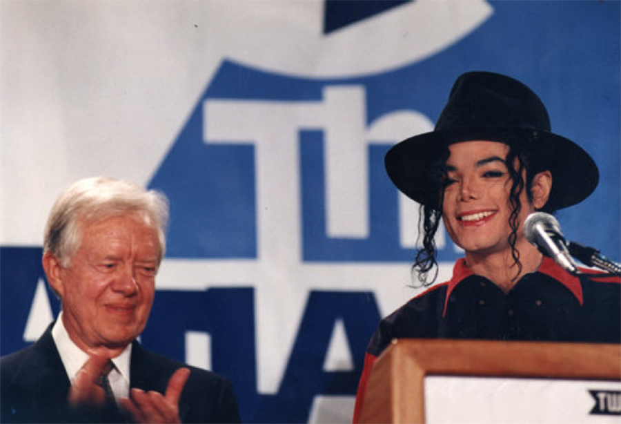 In 1993, MJ's Heal The World Foundation Launched Heal L.A. To Address Drug Use Prevention
