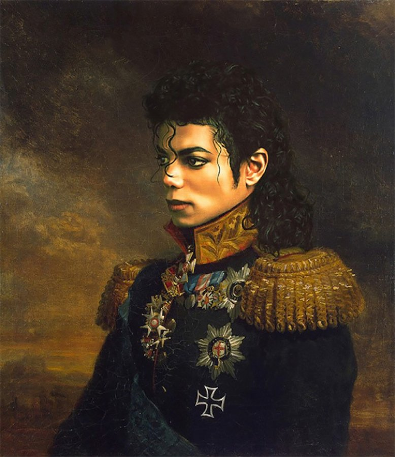 Have You Seen Steve Payne's Stunning Portrait of Michael Jackson?