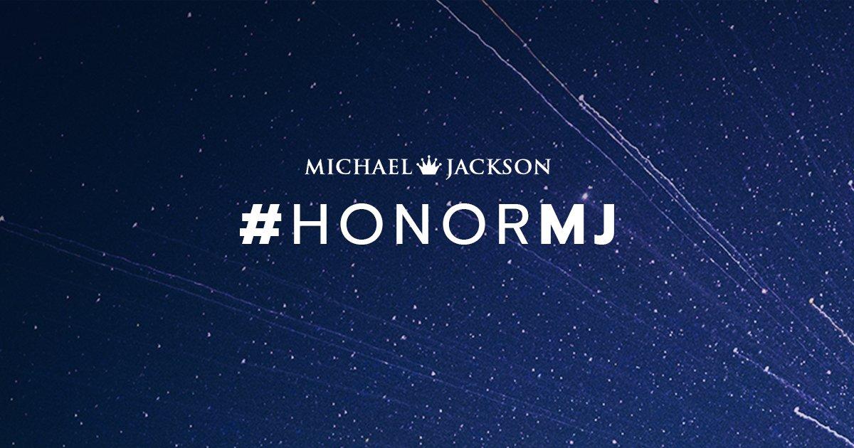 #HonorMJ