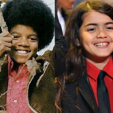 Michael jackson and Blanket comparison