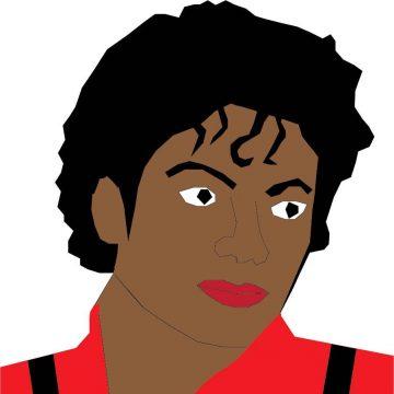 My Drawing Of Michael Jackson
