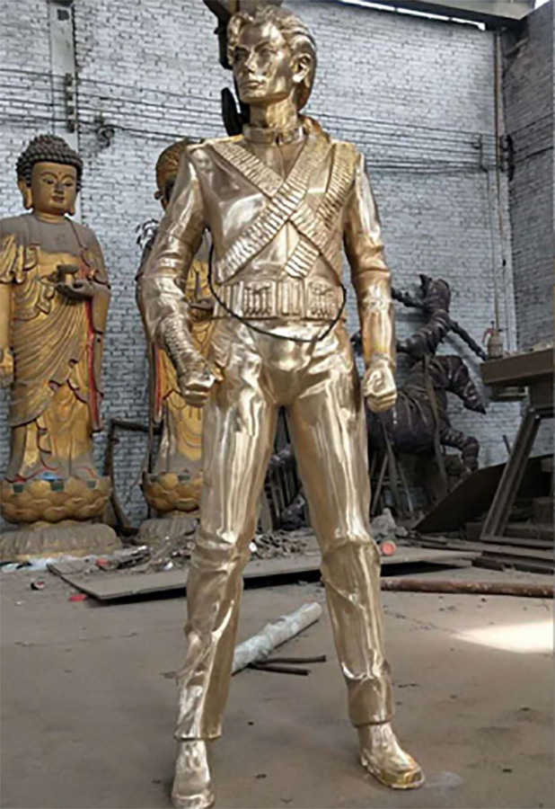 Artists Honor Michael Jackson By Creating Art Installations
