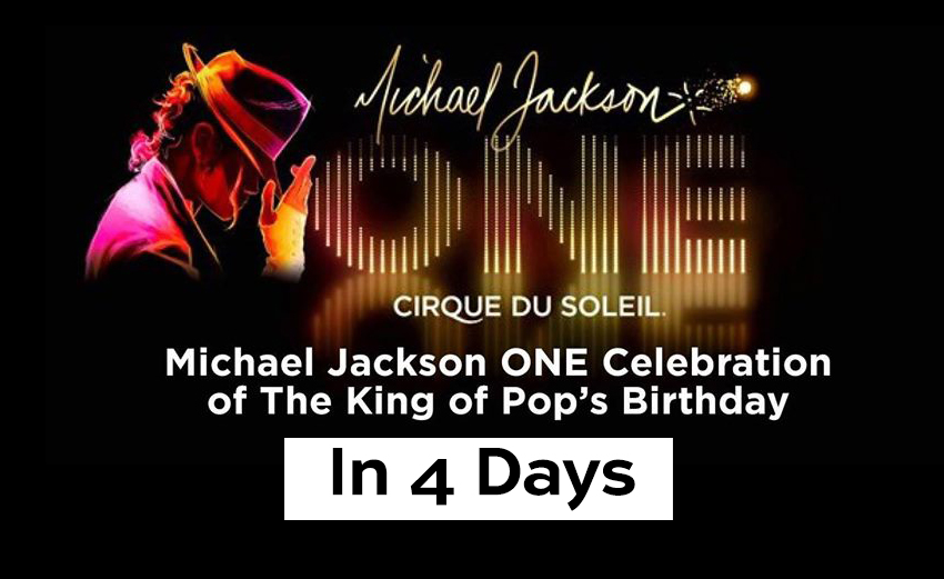 Michael Jackson Birthday Celebration Countdown
