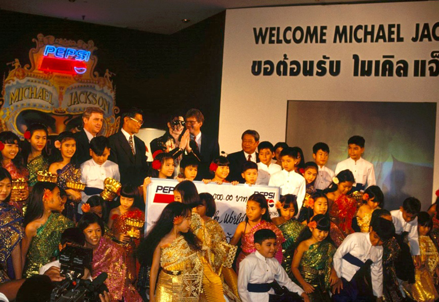 In 1993, MJ Paired His Dangerous Tour With A Generous Donation In Thailand