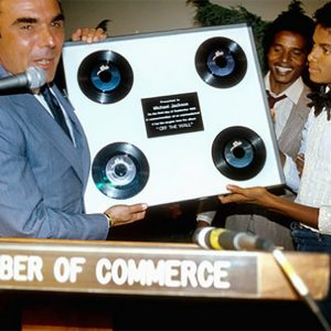 The Jacksons Were Honored With Star On Hollywood Walk of Fame In 1980