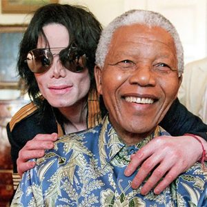 Nelson Mandela Spoke On MJ's Worldwide Contributions