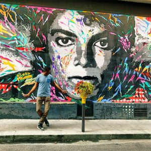 Have You Seen The City of Light's MJ Mural?