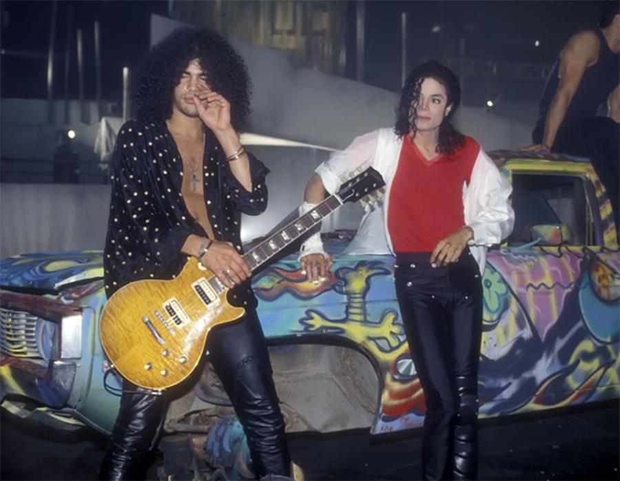 Slash Acknowledges The Genius That Was Michael Jackson