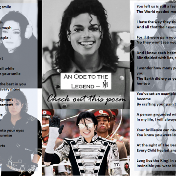 An Ode to the Legend – Michael Jackson!!