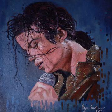 MJ PORTRAIT DRAWING