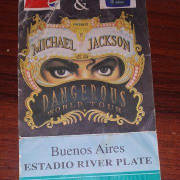 Dangerous Tour 1993 -Buenos Aires . (Argentina) Estadio River Plate.