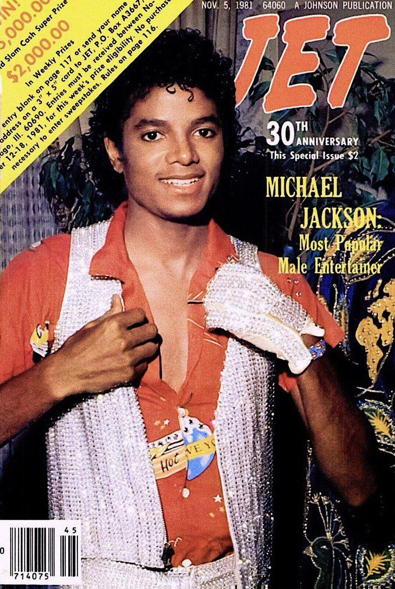 Michael Jackson Jet magazine November 5, 1981