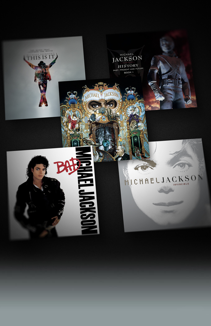 FIVE MICHAEL JACKSON ALBUMS DEBUT AT #1 ON BILLBOARD 200