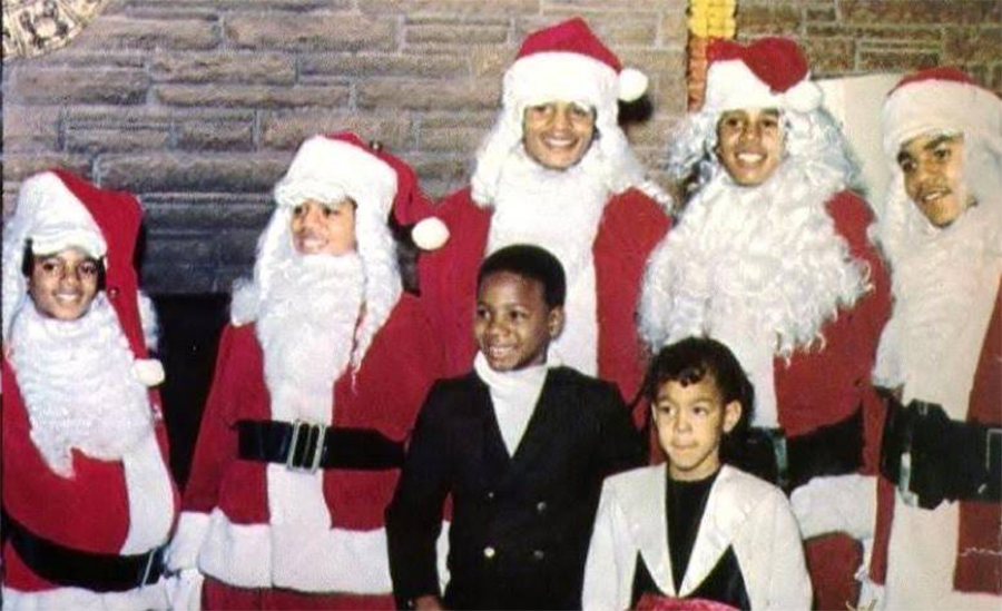 The Jackson 5 Bring Christmas Cheer To Underprivileged Children