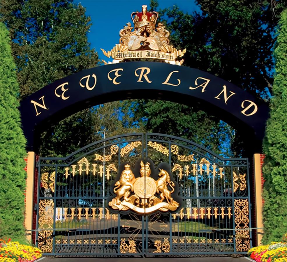 1990 begrüßte Michael Jackson Childhelp USA auf seiner Neverland Ranch